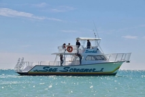 Fishing charter boat in Florida